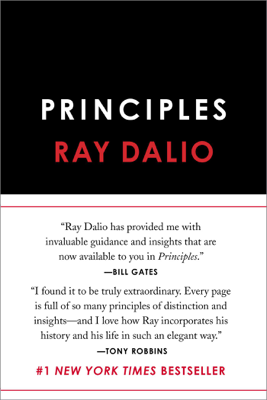 Principles - Ray Dalio book