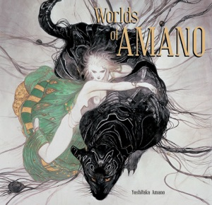 Worlds of Amano Book Cover