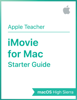 Apple Education - iMovie for Mac Starter Guide artwork