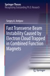 Fast Transverse Beam Instability Caused By Electron Cloud Trapped In Combined Function Magnets
