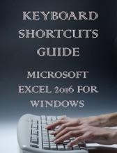 Microsoft Excel 2016 Keyboards Shortcut Guide