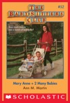 The Baby-Sitters Club 52 Mary Anne  2 Many Babies
