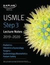 USMLE Step 3 Lecture Notes 2019-2020 Pediatrics ObstetricsGynecology Surgery EpidemiologyBiostatistics Patient Safety