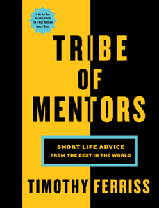 Tribe of Mentors Cover Book