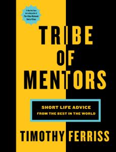 Tribe of Mentors La couverture du livre martien