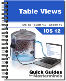 Table Views in iOS 12