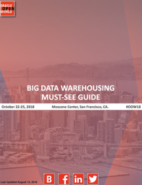 Must-See Guide For Big Data Warehousing #OOW18 book