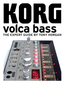 Korg Volca Bass - The Expert Guide Boekomslag