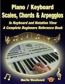 PIANO / KEYBOARD SCALES, CHORDS & ARPEGGIOS IN KEYBOARD AND NOTATION VIEW