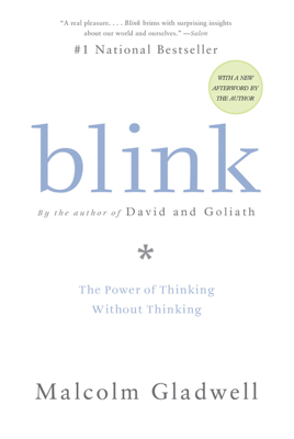 Blink - Malcolm Gladwell book