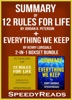 Summary of 12 Rules for Life: An Antidote to Chaos by Jordan B. Peterson + Summary of Everything We Keep by Kerry Lonsdale 2-in-1 Boxset Bundle