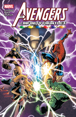 Avengers & The Infinity Gauntlet - Brian Clevinger book