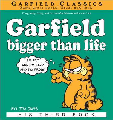 Garfield Bigger Than Life - Jim Davis book