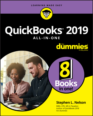 QuickBooks 2019 All-in-One For Dummies - Stephen L. Nelson book