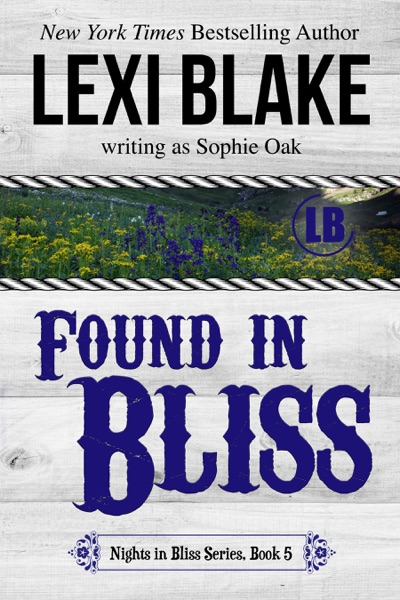 Found in Bliss, Nights in Bliss, Colorado, Book 5 - Lexi Blake book cover
