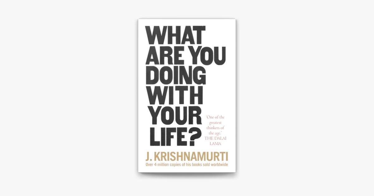 Krishnamurti einbruch in die freiheit englisch