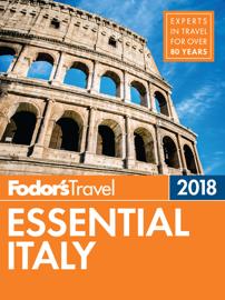 Fodor's Essential Italy 2018 book