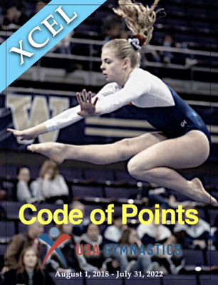 Code of Points - USA Gymnastics Xcel Program book