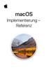Apple Inc. - macOS-Implementierung - Referenz artwork