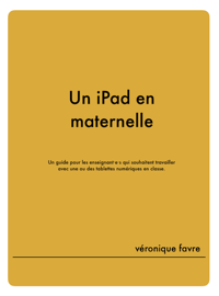 Un iPad en maternelle