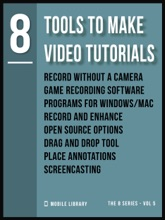 Tools To Make Video Tutorials 8