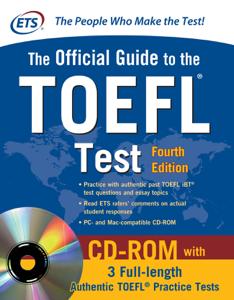 Official Guide to the TOEFL Test, 4th Edition La couverture du livre martien