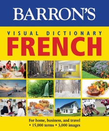 BARRONS VISUAL DICTIONARY: FRENCH: FOR HOME, BUSINESS, AND TRAVEL