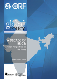 A Decade of BRICS: Indian Perspectives for the Future book