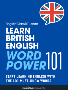 Learn British English - Word Power 101 ebook