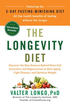 The Longevity Diet - Valter Longo book