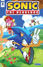 Sonic the Hedgehog #2 book
