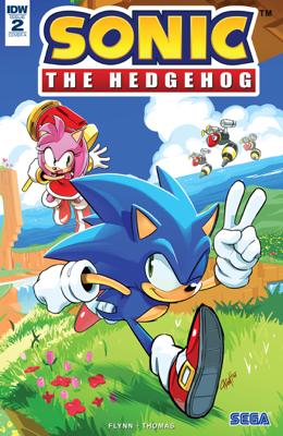 Sonic the Hedgehog #2 - Ian Flynn & Adam Bryce Thomas book