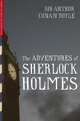 The Adventures of Sherlock Holmes book cover