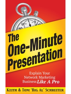 The One-Minute Presentation Book Cover