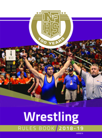 2018-19 NFHS Wrestling Rules Book book
