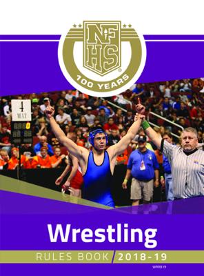 2018-19 NFHS Wrestling Rules Book - NFHS book