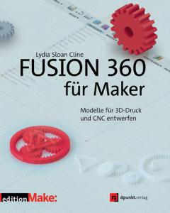 Fusion 360 für Maker Buch-Cover