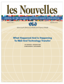 What Happened and is Happening to R&D and Technology Transfer