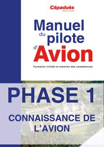 PHASE 1 du Manuel Avion La couverture du livre martien