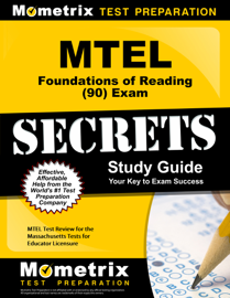 MTEL Foundations of Reading (90) Exam Secrets Study Guide book