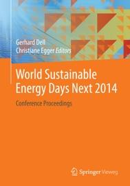 World Sustainable Energy Days Next 2014