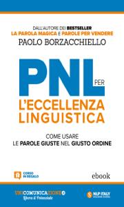 PNL per l'eccellenza linguistica Libro Cover