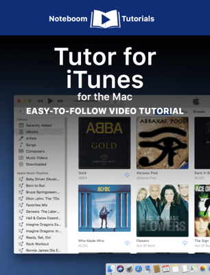 Tutor for iTunes for the Mac - Noteboom Tutorials book