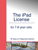 The iPad License for 7-8 year olds.