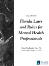 Florida Laws And Rules For Mental Health Professionals
