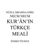 Nüzul Sırasına Göre Necm Necm Kur'an'ın Türkçe Meali