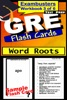GRE Test Prep Word Roots Review--Exambusters Flash Cards--Workbook 3 of 6