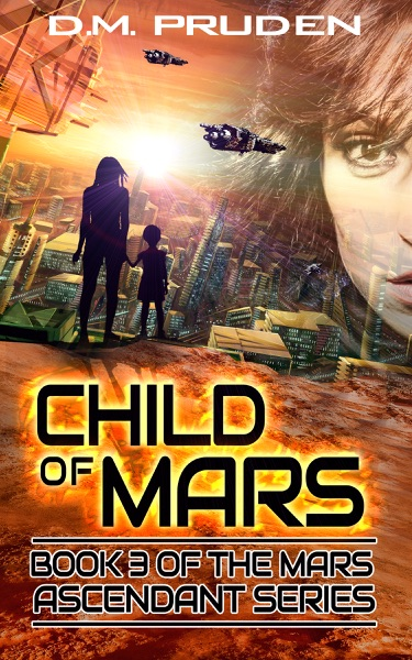 Child of Mars - D.M. Pruden book cover