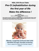 Pre Cochlear Implant (re)habilitation during the first year of life - Make the difference !