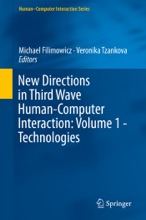 New Directions In Third Wave Human-Computer Interaction: Volume 1 - Technologies